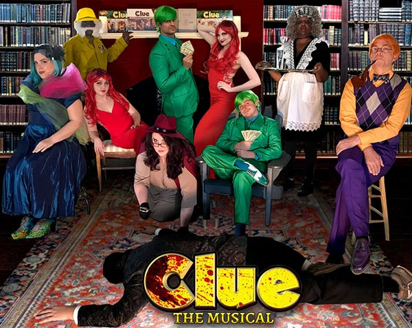 "interACT presents ""Clue: The Musical"""