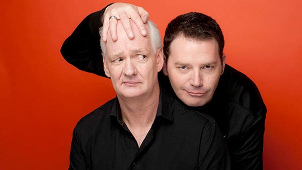 Colin Mochrie and Brad Sherwood Bring Their Improv Show To Count Basie Theatre