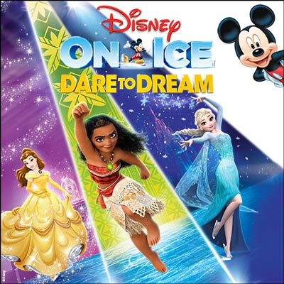 Disney On Ice presents Dare To Dream at Prudential Center