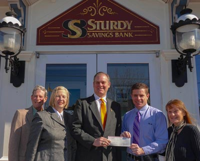 East Lynne Theater Company receives donation from Sturdy Savings Bank for its Student Summer Workshop