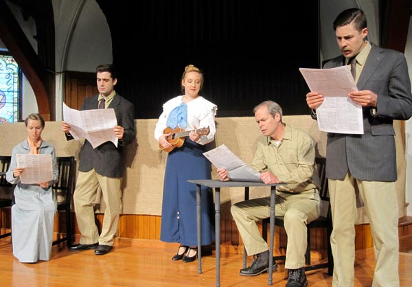 "Meet The Cast For ""A Year In The Trenches"" At East Lynne Theater Company"