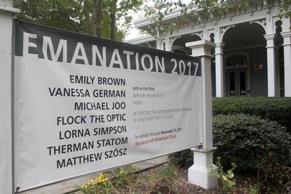 "WheatonArts' ""Emanation 2017"""