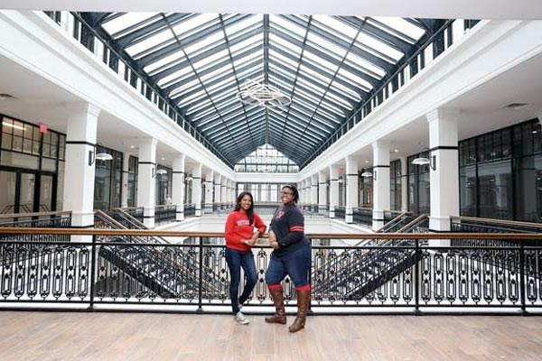 Express Newark Arts Incubator Now Open in Former Hahne's Department Store