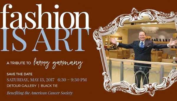 """FASHION IS ART"" - To Benefit The American Cancer Society"