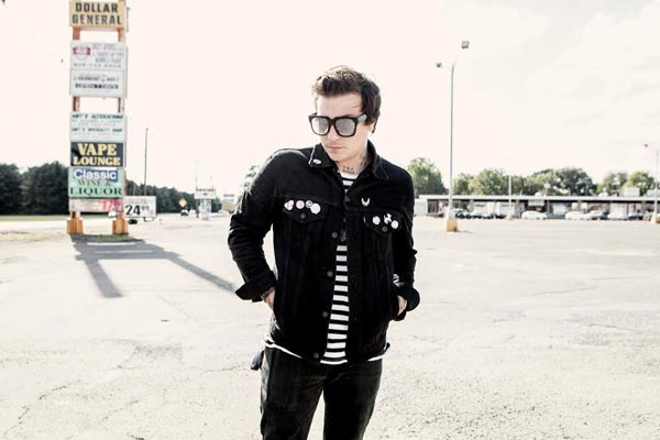 Frank Iero and the Patience To Play White Eagle Hall In Jersey City