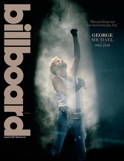 Billboard Magazine Celebrates Life of George Michael