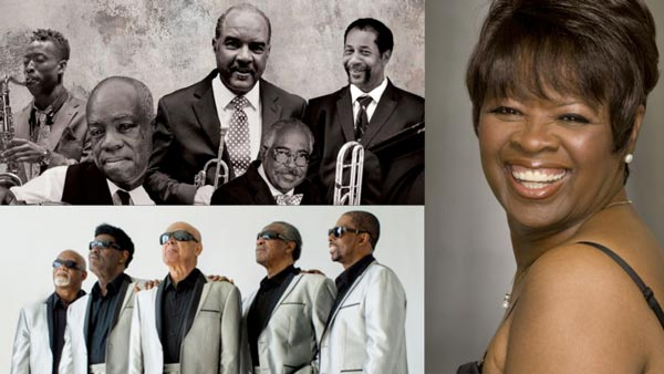 """The Heart & Soul Queen of New Orleans"" with Irma Thomas, The Blind Boys of Alabama, and The Preservation Legacy Quintet Come To Grunin Center"