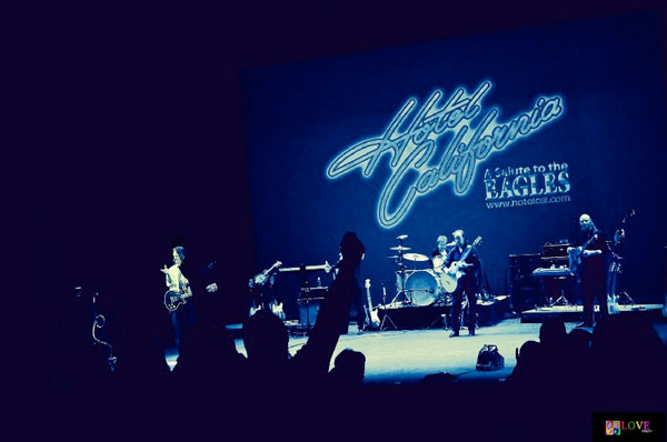 "4 Words: ""Magnificent,"" ""Fabulous,"" ""The Best."" Hotel California Salutes the Eagles at Toms River's Grunin Center"