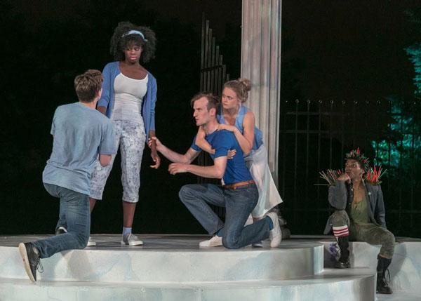 """Photos from """"A Midsummer Night's Dream"""" at Shakespeare Theatre of NJ"""