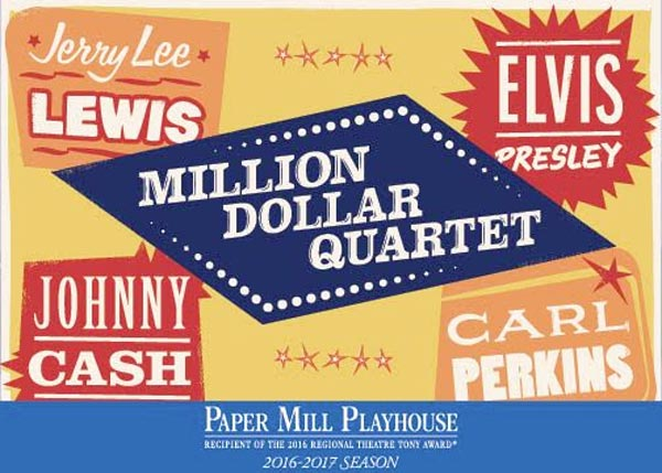 Cast & Creative Announced for Million Dollar Quartet at Paper Mill Playhouse