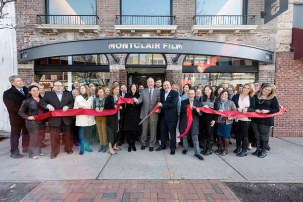 Montclair Film Festival Cuts Ribbon On Investor's Bank Film & Media Center