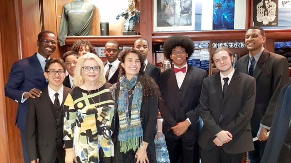 George Wein and James Moody Inspire Teen Musicians at NJPAC