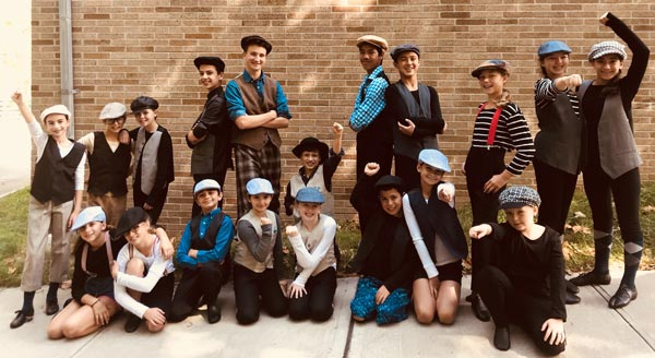 "Aspire Performing Arts Company To Present ""Newsies JR!"""