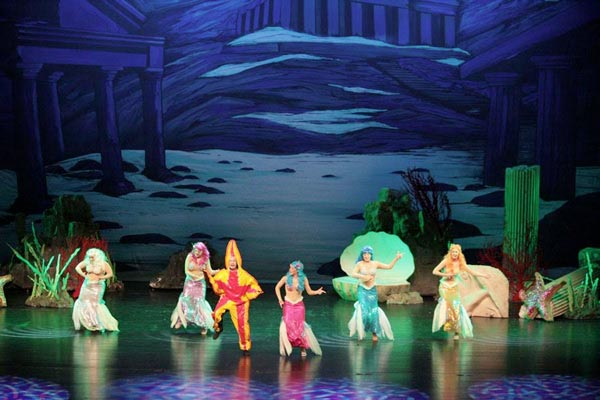 The Newton Theatre Presents A New Musical: The Little Mermaid
