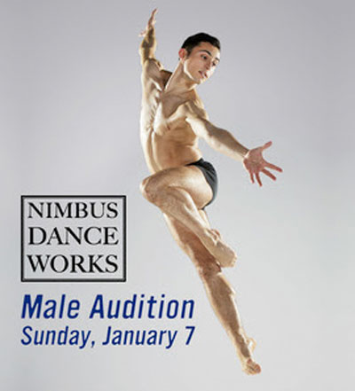 Nimbus Dance Works Sees Two Male Dancers For Immediate Hire