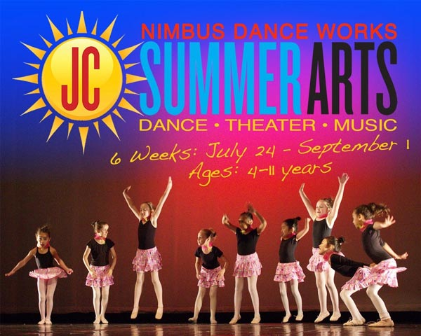 Nimbus Dance Works Holds SummerArts Instruction For Ages 4-11