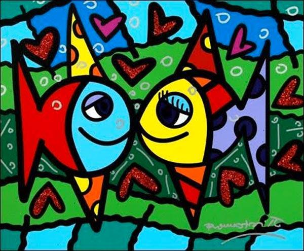 "Ocean Galleries Presents ""Romero Britto -- Brilliant World of Color"""