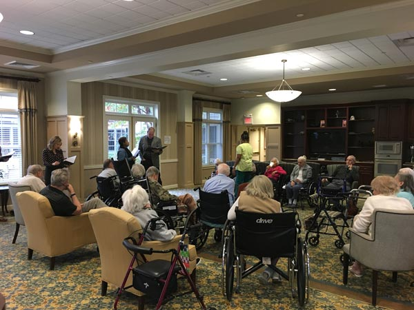 Wallerstein Foundation Funds Playwriting Residency for Senior Citizens at Canterbury Village in West Orange
