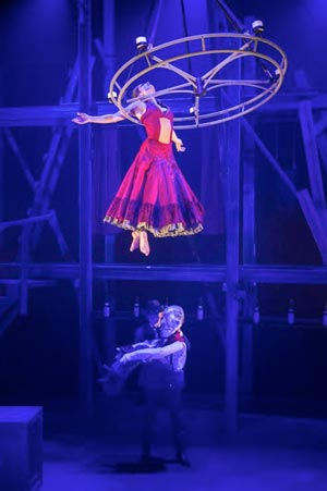 State Theatre NJ presents Cirque Eloize SALOON: A Musical Acrobatic Adventure