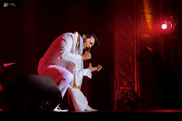 """The Whole Package!"" Elvis Tribute Artist Richie Santa LIVE! at The Strand"