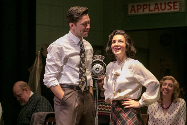 "Scenes From ""It's A Wonderful Life: A Live Radio Play"" At Shakespeare Theatre of NJ"