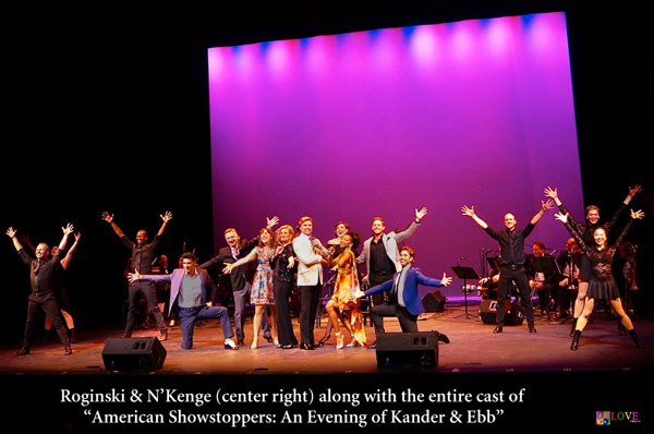"Lindsay Roginski and N'Kenge Prove They Have ""IT"" in American Showstoppers LIVE! at the Grunin Center"