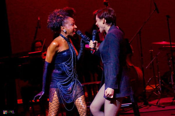 """Lindsay Roginski and N'Kenge Prove They Have """"IT"""" in American Showstoppers LIVE! at the Grunin Center"""