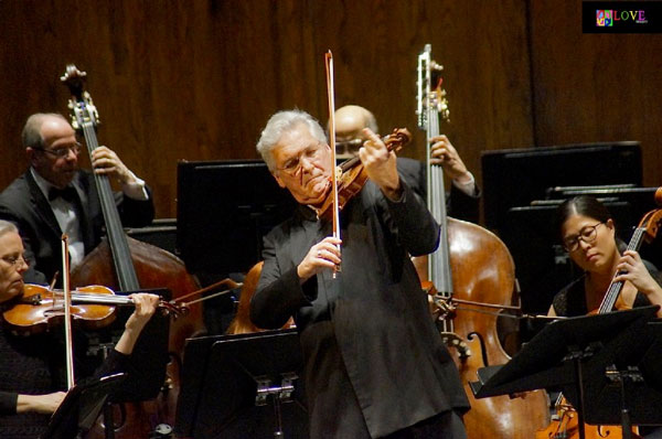 """One of the Greatest in the World!"" Pinchas Zukerman and the NJSO LIVE! at New Brunswick's State Theatre"