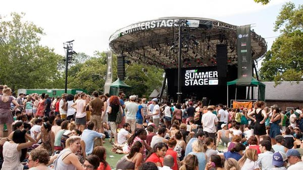 A look at SummerStage 2017