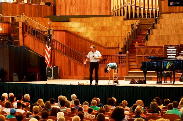 """""""We Came in as Strangers, but Now We're Good Friends"""" Taylor Mason LIVE! at Ocean Grove's Great Auditorium"""