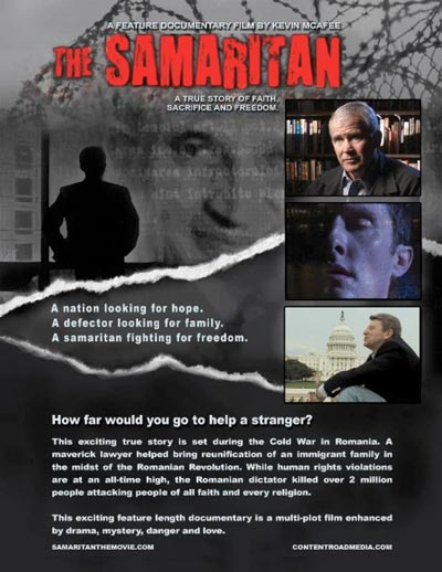 "Garden State Film Festival To Screen ""The Samaritan"" by Kevin McAfee"
