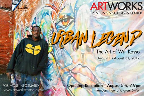 "Artworks Presents ""Urban Legend"" - The Art Of Will Kasso"