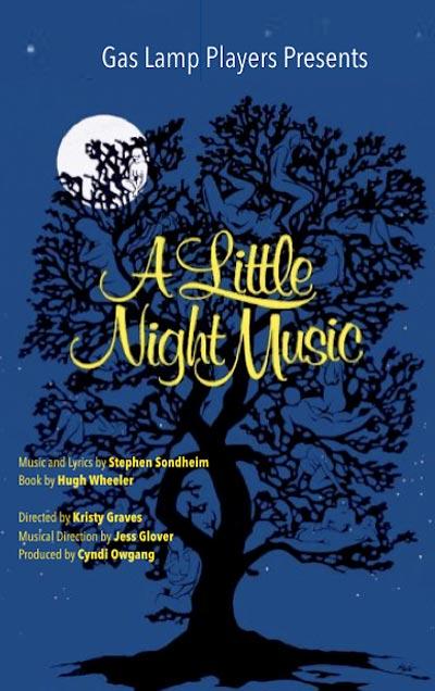 "Gas Lamp Players present ""A Little Night Music"" benefit concert"
