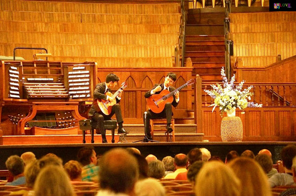 Classical Guitarists Alex and Wesley Park LIVE! at The Great Auditorium