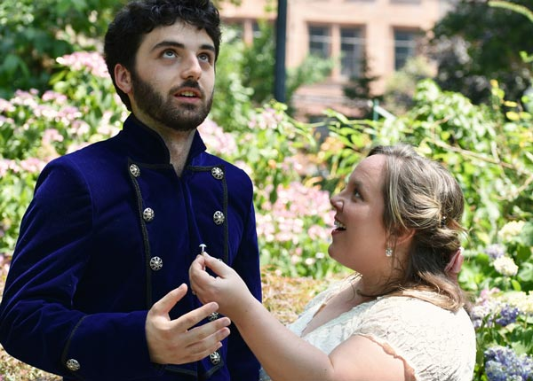 """Hudson Shakespeare Company Presents """"All's Well That Ends Well"""""""