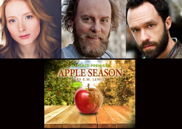 "NJ Rep To Present World Premiere of ""Apple Season"" by E.M. Lewis"