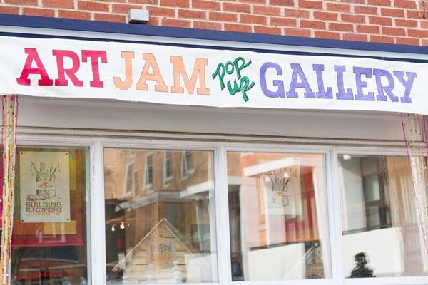ArtJam - Pop Up Art Gallery Runs In April