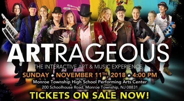Monroe Township Presents Artrageous