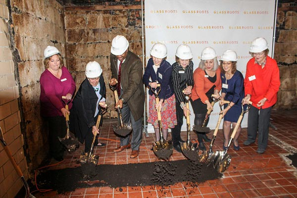 Ground Broken For Newark Arts Commons