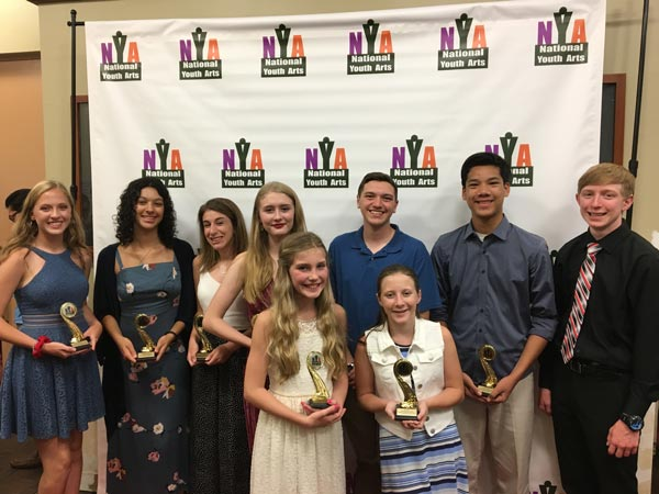 Aspire Performing Arts Company Receives 9 Awards and 28 Additional Nominations From National Youth Arts