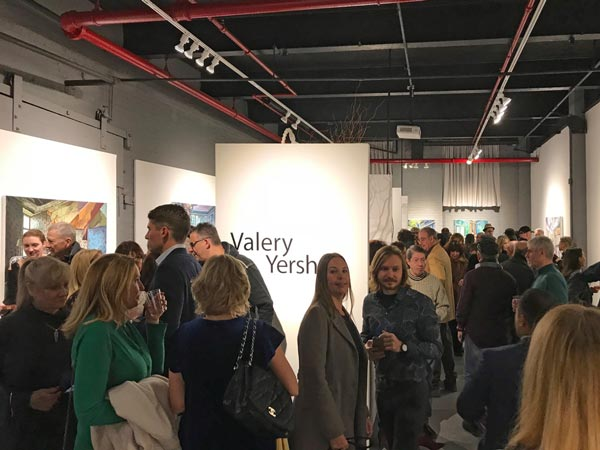 Russian Artist's Solo Exhibition Makes History with Record Attendance at Hoboken Gallery