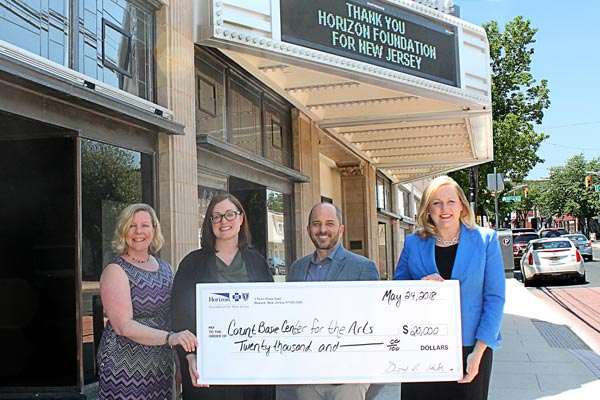 Count Basie Center for the Arts Receives $20,000 Grant From The Horizon Foundation for New Jersey