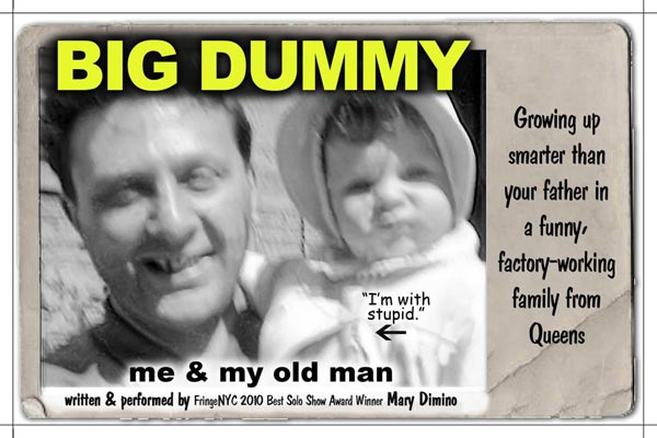 Comedian Mary Dimino to bring Big Dummy performance to Rahway