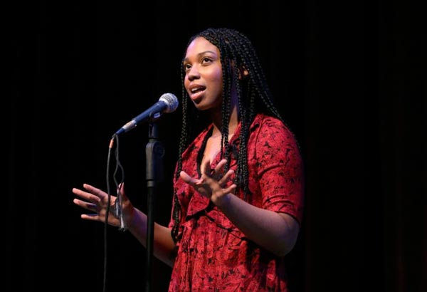 Breana Sena Named State Champion At 2018 NJ Poetry Out Loud State Finals