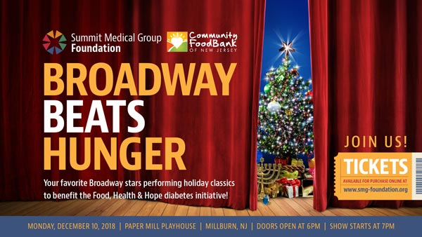 Broadway Stars To Perform At Paper Mill For 2nd Annual Broadway Beats Hunger Event