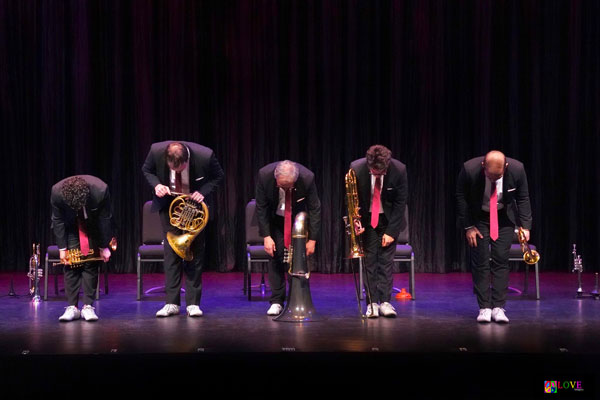 The Canadian Brass LIVE! at the Grunin Center