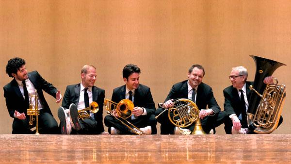 Grunin Center Presents Canadian Brass