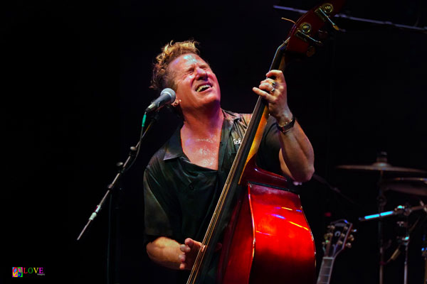 """""""THUMBS UP!"""" The Stray Cats' Lee Rocker LIVE! at the Grunin Center"""