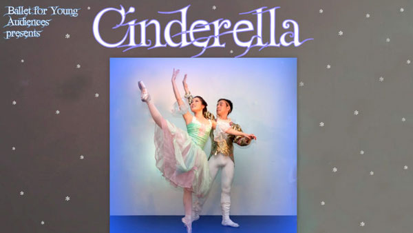 Ballet for Young Audiences performs Cinderella at Grunin Center