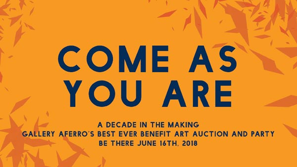 Gallery Aferro To Celebrate 15th Anniversary with Benefit Art Auction and Party